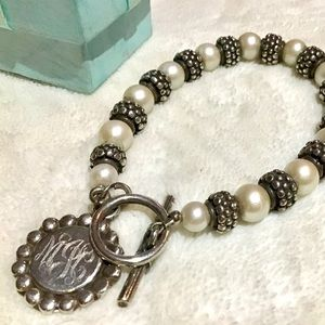 Jewelry - Sterling Silver and Pearl Bracelet